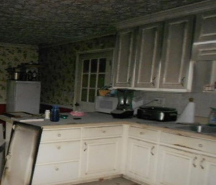 Residential Kitchen Fire Before