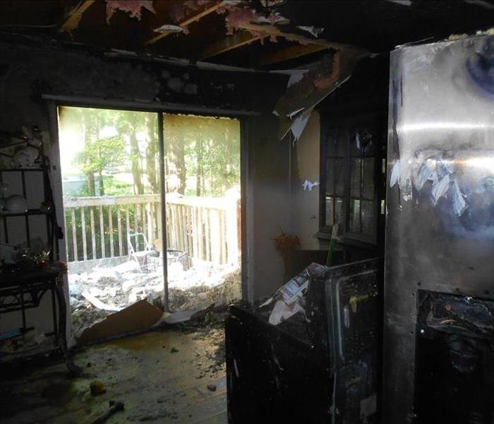 Residential Kitchen Fire