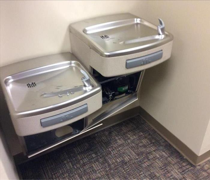 Water Fountain Leak
