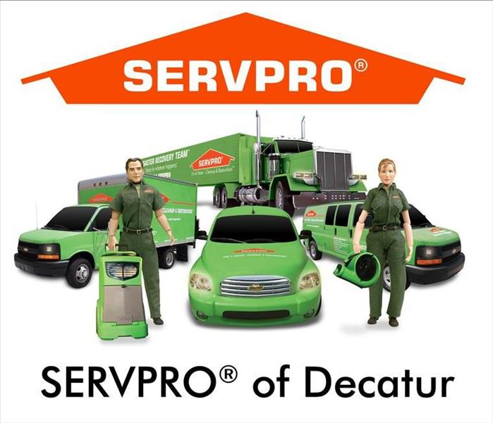 General For Immediate Service in Decatur, Call SERVPRO